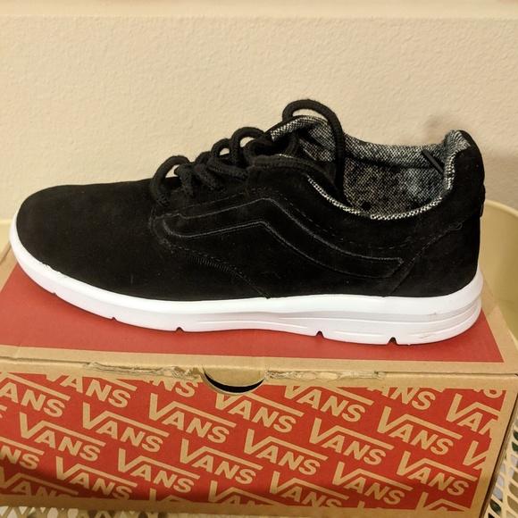 3df2a120c1 Vans Shoes - Women s Vans Iso 1.5 (Tweed Dots) Black True White